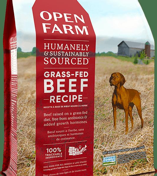 OPEN FARM DOG DRY GRAIN FREE BEEF 24# 1