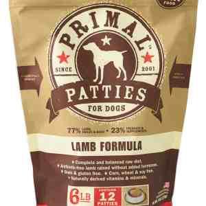 Primal 6lb Canine Lamb Formula Patties