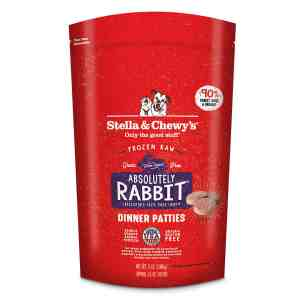 S&C ABSOLUTELY Rabbit Frozen DOG 6#