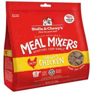 Chicken Meal Mixer Freeze Dried 18 Ounce