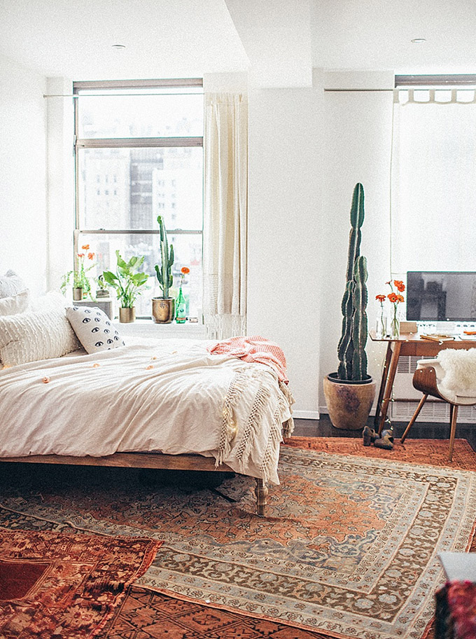 Boho Home Decor: 11 Tips That Show You How To Pull It Off ... on Modern Boho Bedroom  id=88059