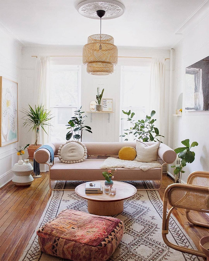 Boho Home Decor: 11 Tips That Show You How To Pull It Off ... on Boho Room Decor  id=53614