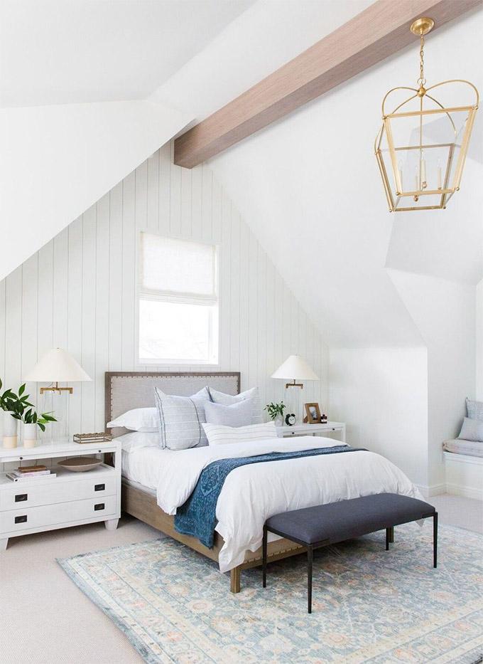 Get The Look Spectacular Neutral Blue Bedroom Posh Pennies