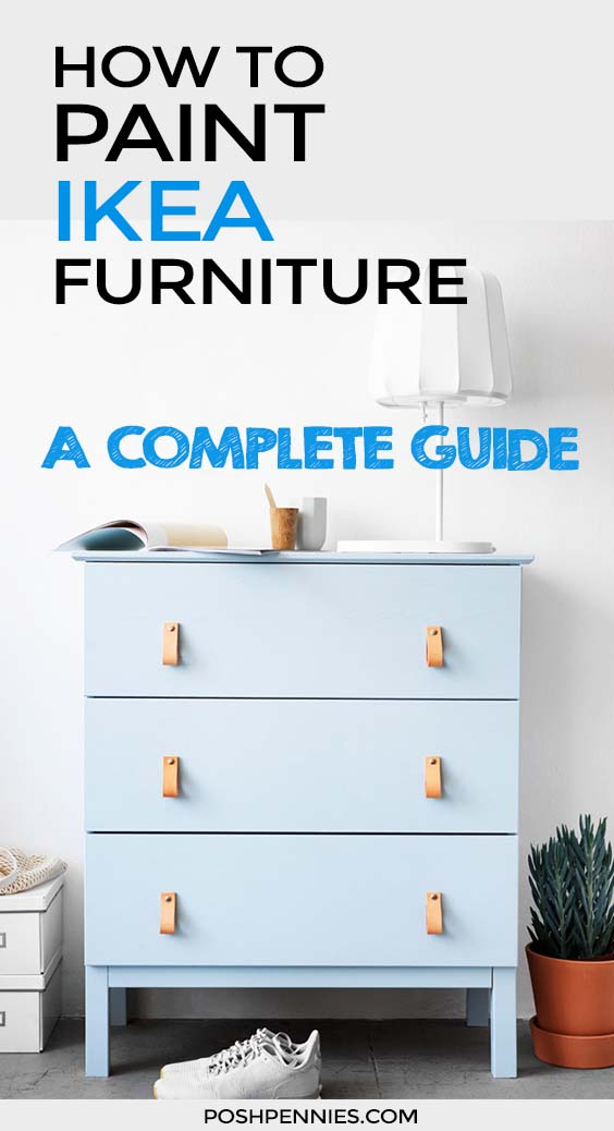 How To Paint IKEA Furniture (laminate, solid wood and ...