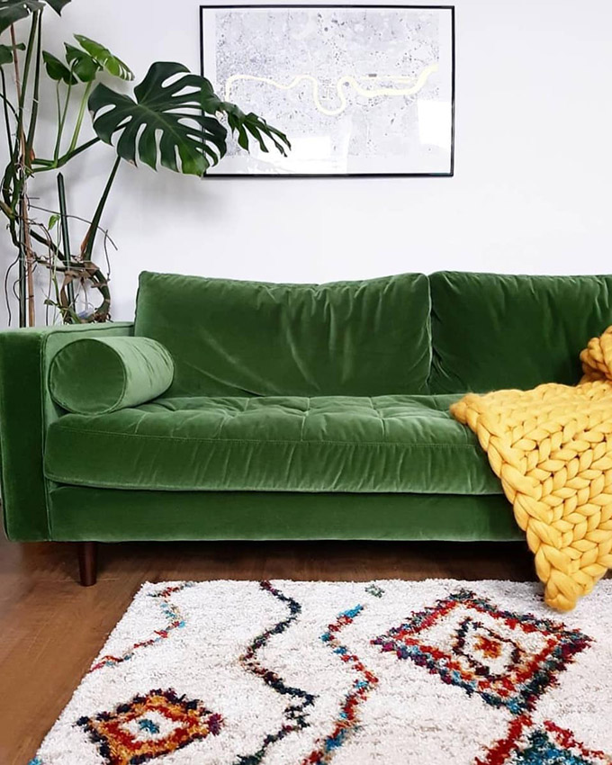 Best Affordable Dupe Of The Velvet Article Sven Sofa