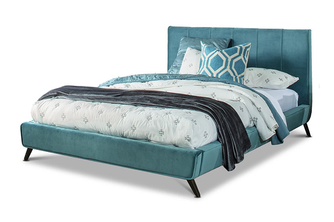 11 Chic Mid Century Beds That Ll Complete Your Bedroom Posh Pennies