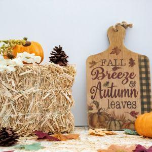 Fall, Hay, Pumpkins, Leaves, Pine Cones, Fall Floral