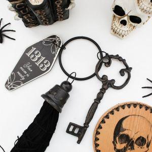 Halloween, Halloween Decor, Scary Books, Skulls, Spider, Flat Lay