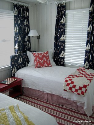 Nautical Beach House Bedroom