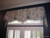 Imperial Valance blue/yellow with Tails