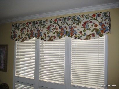 Large Beach House Valance Wilmington Fabric