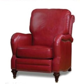 High-Leg-Recliner-Red-Leather
