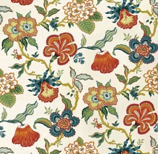 Hothouse Flowers Fabric 174031