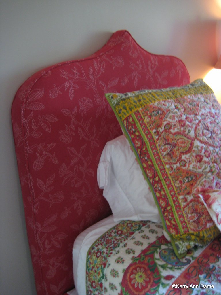 Anglo-Indian headboard detail