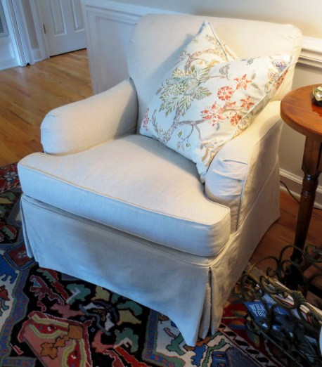 John Linen Club Chair