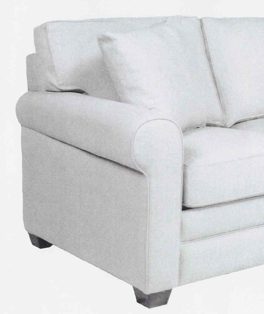 Round Arm Sofa