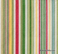 Deck Chair Stripe Fabric Paradise