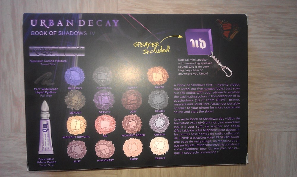 The Fashion - Music + Make Up = Urban Decay  (3/6)