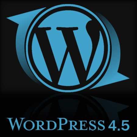Actualización wordpress 4.5