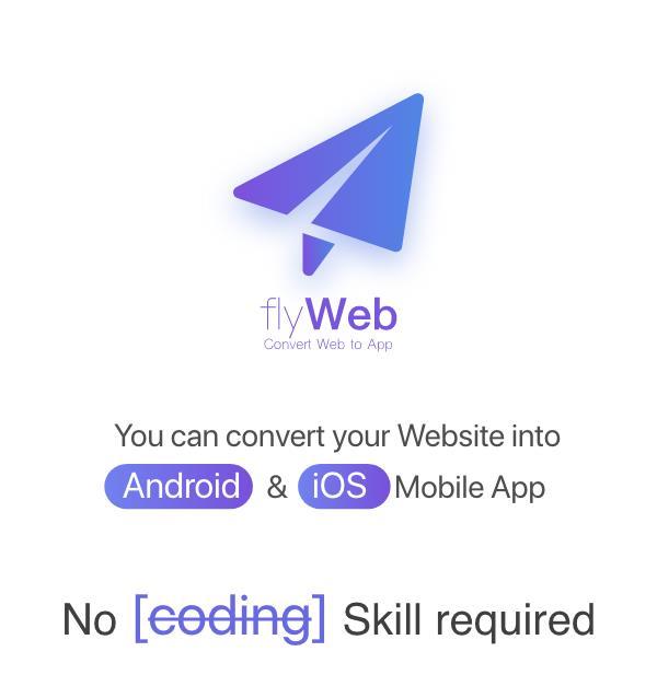 FlyWeb for Web to App Convertor Flutter + Admin Panel - 1