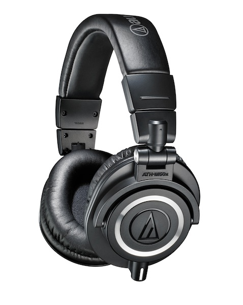 Equipment for Making Archival Digital Copies of an LP, Part 6:  The Audio-Technica ATH-M50x Headphones