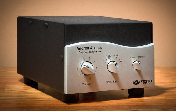 Zesto Audio Andros Allasso Step Up Transformer