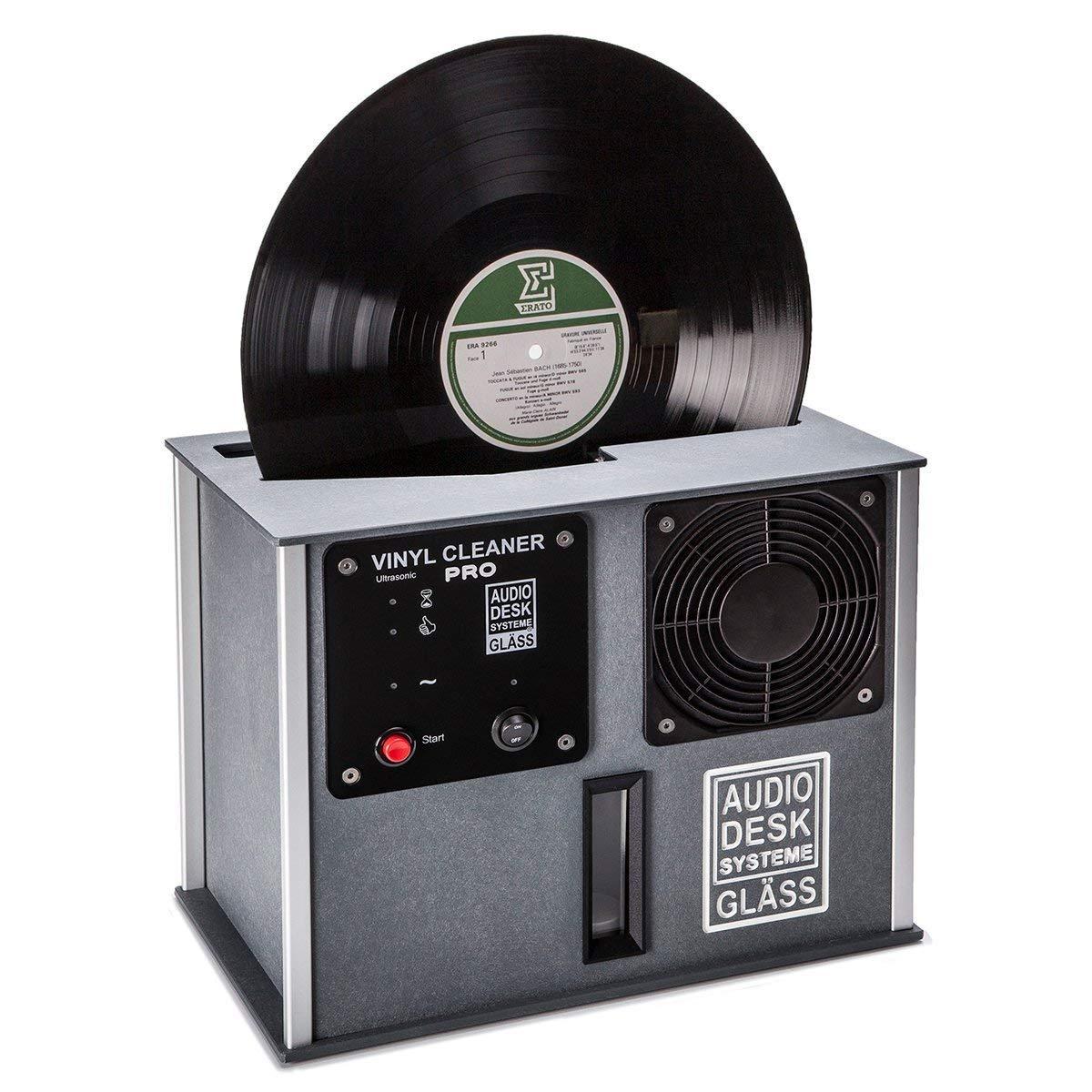 Audio Desk Systeme Premium Ultrasonic Vinyl Cleaner PRO