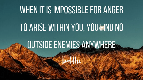 buddha quotes about anger