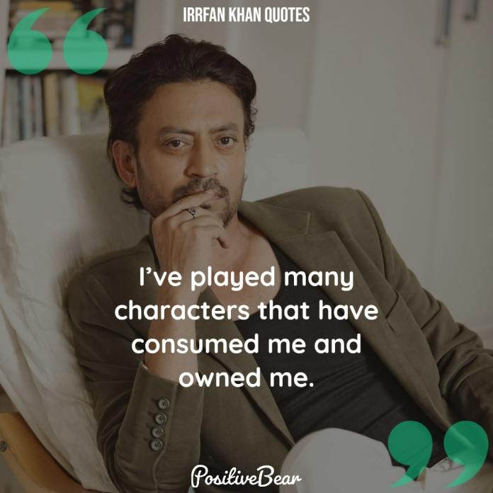 Irrfan Khan Quotes best