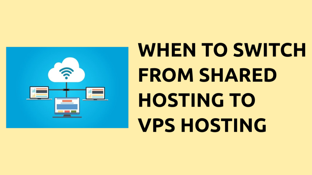 migrating from shared hosting to vps hosting