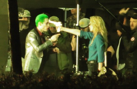 See Jared Leto and Margot Robbie in Suicide Squad