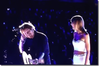 Taylor Swift And Ed Sheeran's Duet Was Touching & Cute!
