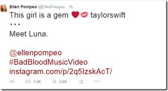 Ellen Pompeo T Dawg 5.14.2015