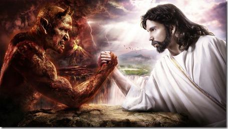 Jesus-Christ-vs-Satan