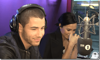 BFFs Demi Lovato And Nick Jonas Test Their Friendship With BBC Radio 1
