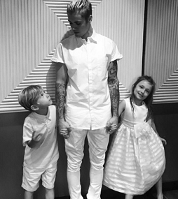 How Does Justin Bieber Feel About Being a Big Brother?
