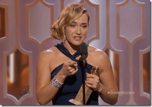 Kate Winslet Talks About Feeling the Girl Power at the 2016 Golden Globe Awards