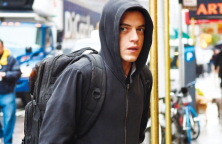 Mr. Robot prepping for Season Two!
