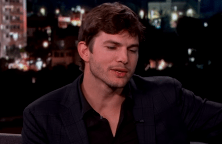 Ashton Kutcher talks his Easter celebration on Jimmy Kimmel!