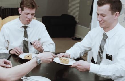 """Mormon Missionaries parody Adele's """"Hello."""""""