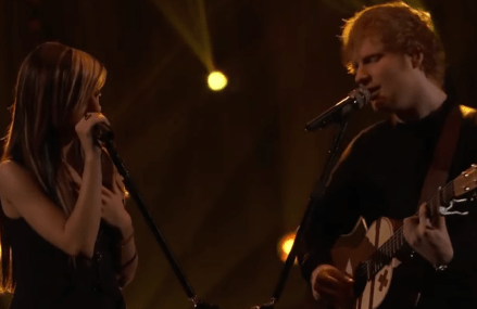 Ed Sheeran and Christina Grimmie duet!