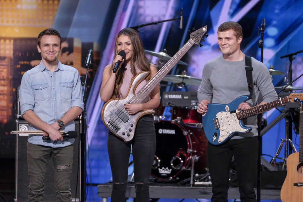 We Three talks America's Got Talent and the loss that started their journey!
