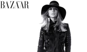 Taylor Swift interviews Pattie Boyd in Bazaar magazine!