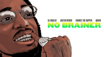 "Justin Bieber and DJ Khaled dropped ""No Brainer."""
