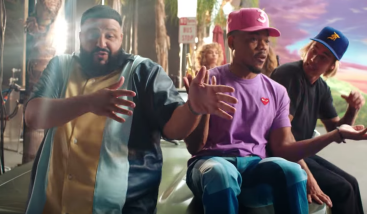 "DJ Khaled - ""No Brainer."" Justin Bieber featured with Chance the Rapper and Quavo"