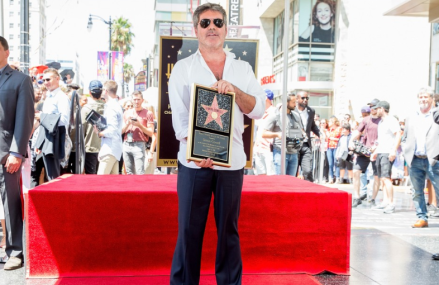 Simon Cowell and Laura Silverman bring son to Hollywood Walk of Fame Ceremony!