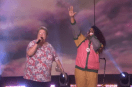 Missy Elliott surprises her Funkie White Girl on the Ellen show!