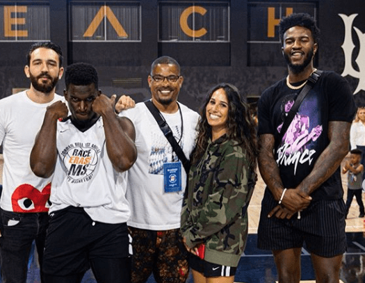 Jordan Bell Hosts 1st Annual Celebrity Basketball Game Benefiting Race to Erase MS. Check it out right here on positive celebrity news!