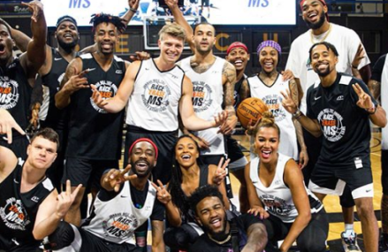 Jordan Bell Hosts 1st Annual Celebrity Basketball Game Benefiting Race to Erase MS!