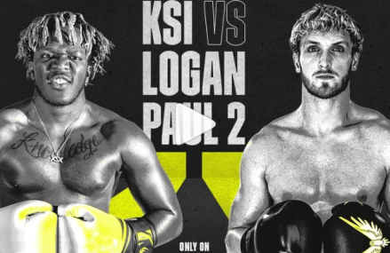 When is the Logan Paul vs KSI fight?